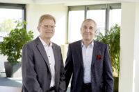 Holger Lange (Managing Director, left) and Prof. Dr Rüdiger Siechau (Spokesperson for the Management Board, right)