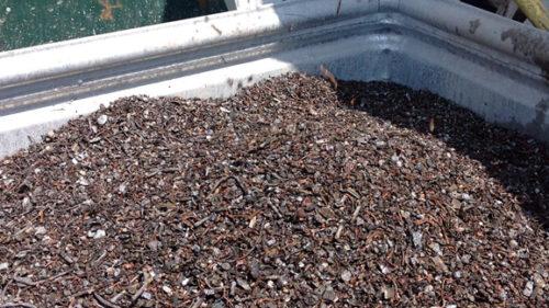 Schwermetalle (Kupferfraktion) aus der Schlackenaufbereitung
